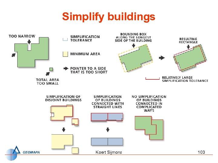 Simplify buildings Koert Sijmons 103