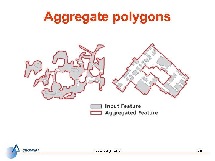 Aggregate polygons Koert Sijmons 98