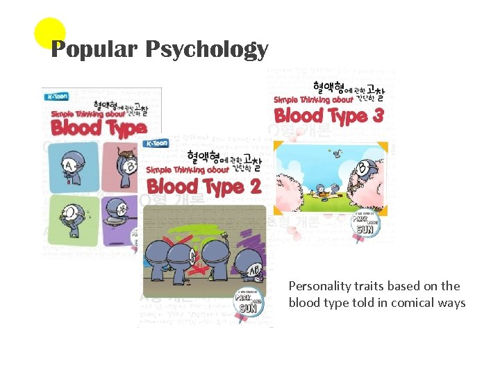 Popular Psychology Personality traits based on the blood type told in comical ways