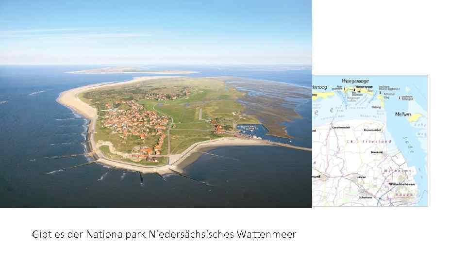 Die Ostfriesische Inseln Gibt es der Nationalpark Niedersächsisches Wattenmeer
