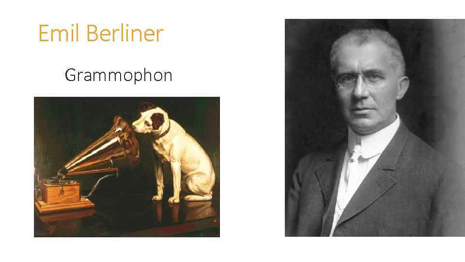 Emil Berliner Grammophon