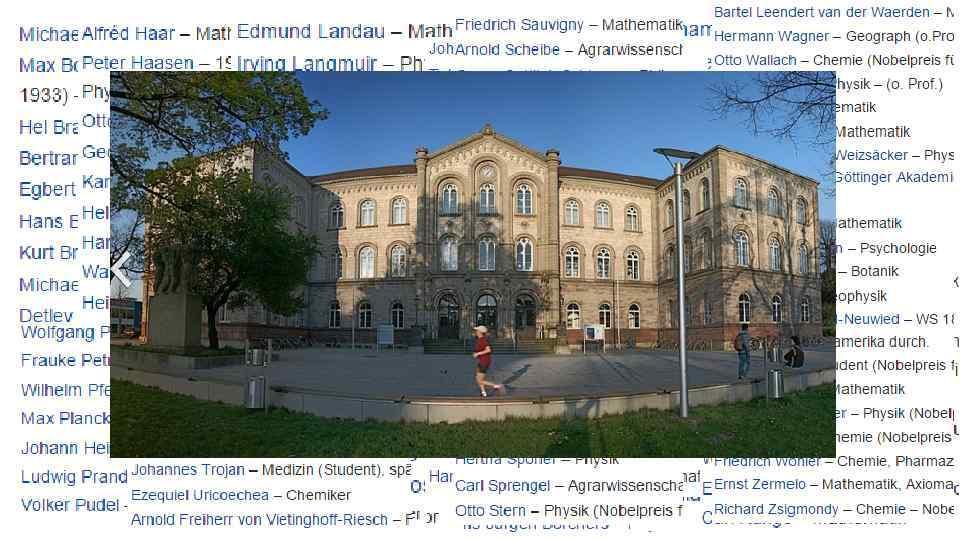 Angehörige der Universität Göttingen