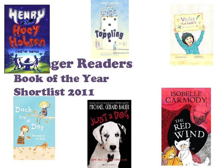 Younger Readers Book of the Year Shortlist 2011