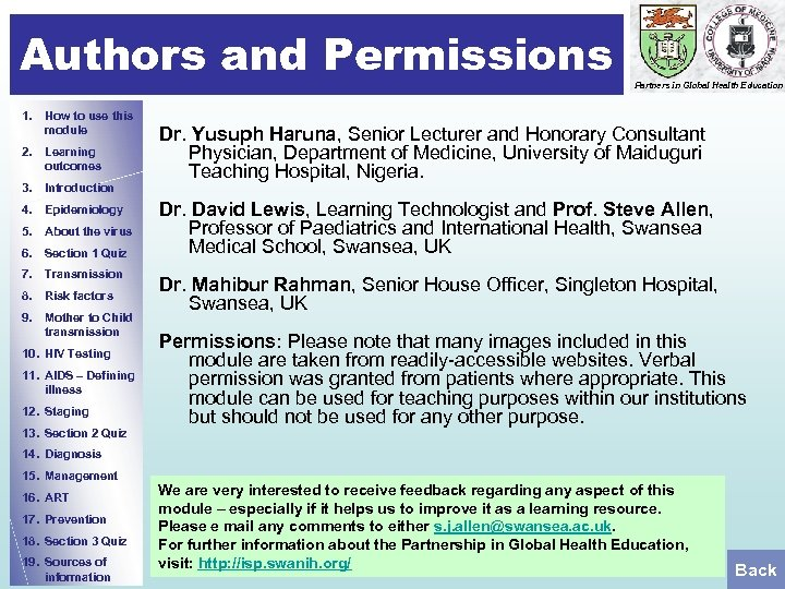 Authors and Permissions 1. How to use this module 2. Learning outcomes 3. Introduction