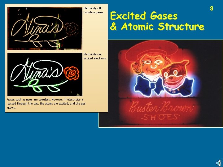 Excited Gases & Atomic Structure 8