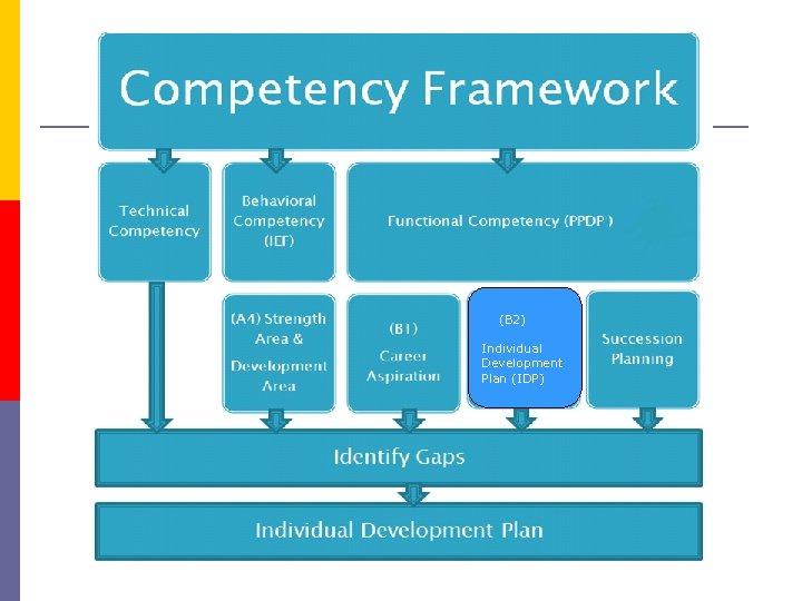 (B 2) Individual Development Plan (IDP)