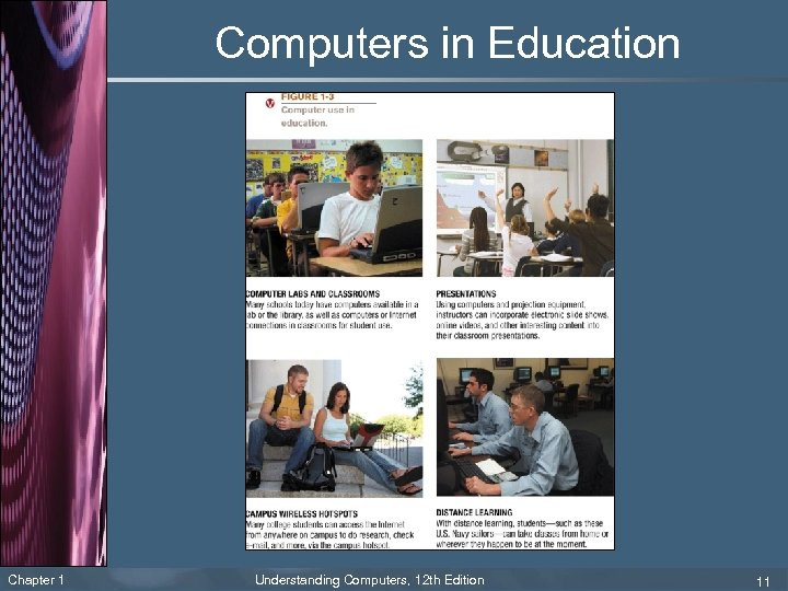 Computers in Education Chapter 1 Understanding Computers, 12 th Edition 11