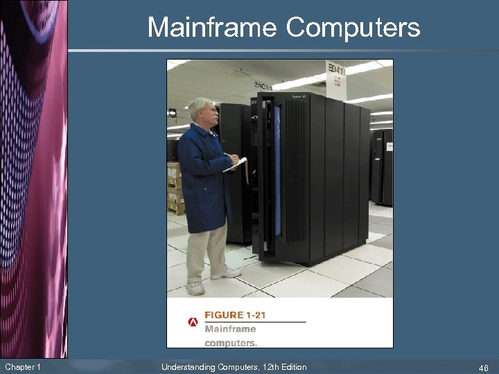 Mainframe Computers Chapter 1 Understanding Computers, 12 th Edition 46