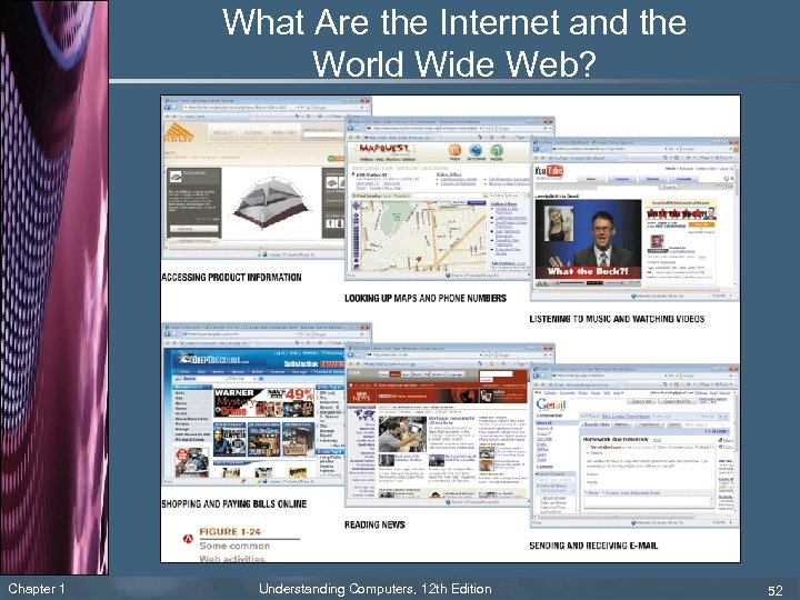 What Are the Internet and the World Wide Web? Chapter 1 Understanding Computers, 12