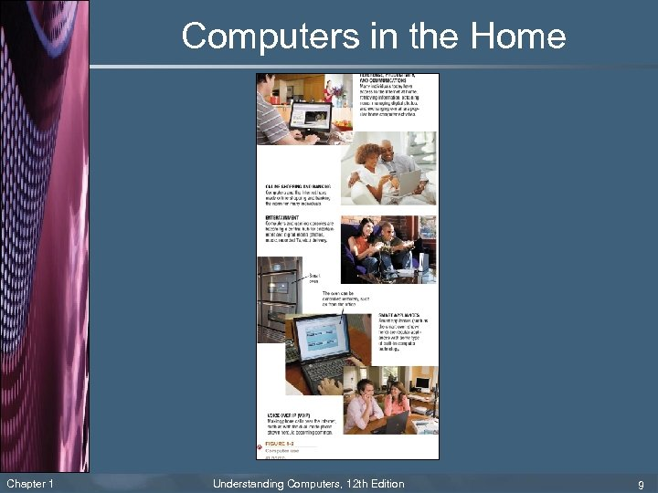 Computers in the Home Chapter 1 Understanding Computers, 12 th Edition 9