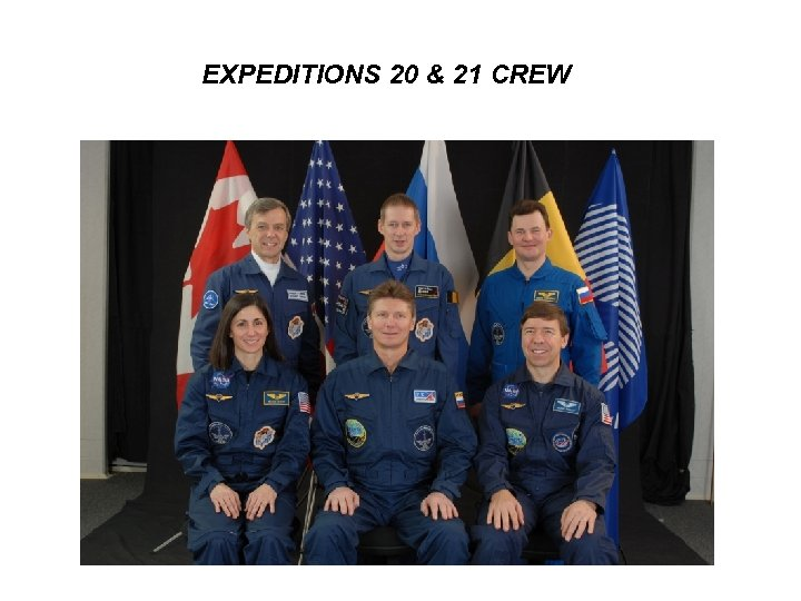 EXPEDITIONS 20 & 21 CREW