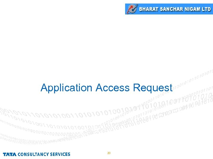 Application Access Request 20