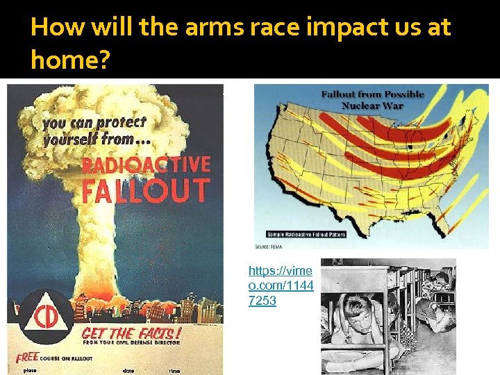 How will the arms race impact us at home? https: //vime o. com/1144 7253