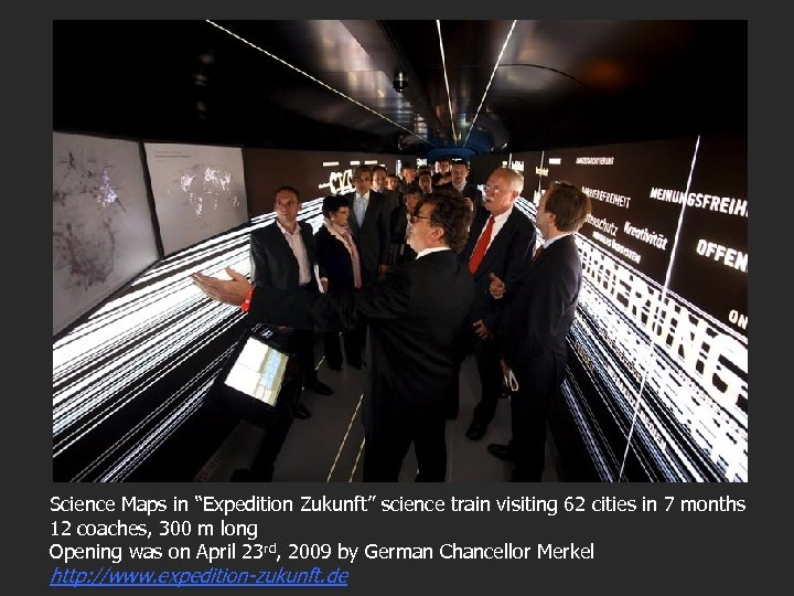 """Science Maps in """"Expedition Zukunft"""" science train visiting 62 cities in 7 months 12"""