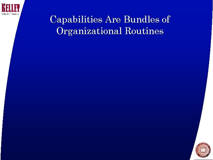 Capabilities Are Bundles of Organizational Routines