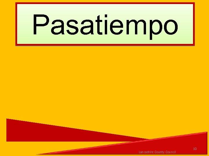 Pasatiempo Lancashire County Council 10