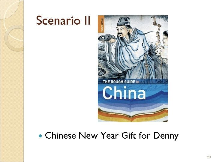 Scenario II Chinese New Year Gift for Denny 20