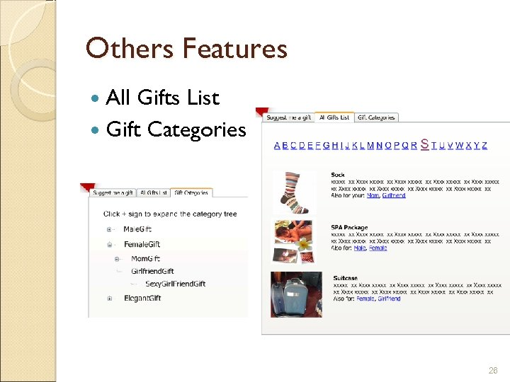Others Features All Gifts List Gift Categories 26
