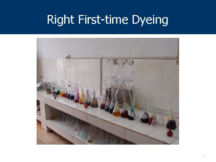 Right First-time Dyeing 11