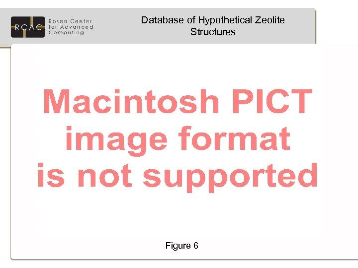 Database of Hypothetical Zeolite Structures Figure 6