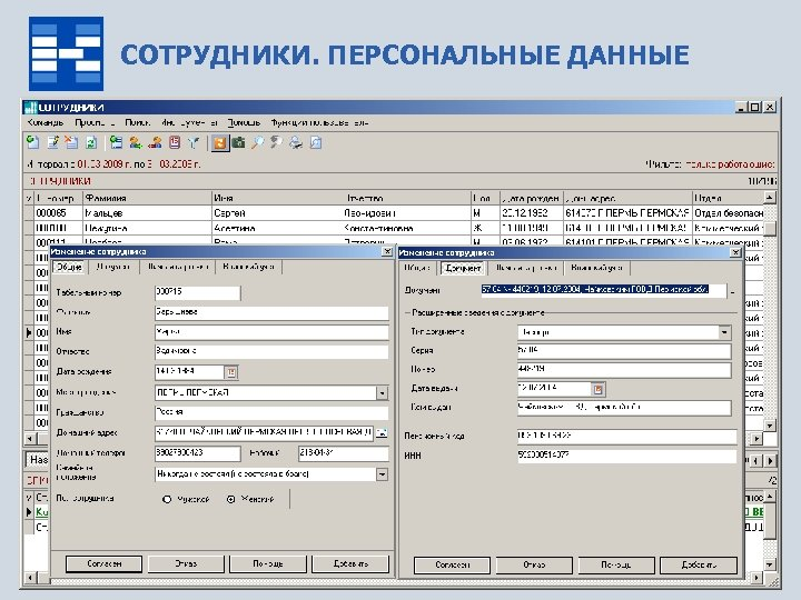 СОТРУДНИКИ. ПЕРСОНАЛЬНЫЕ ДАННЫЕ www. capitalcse. ru