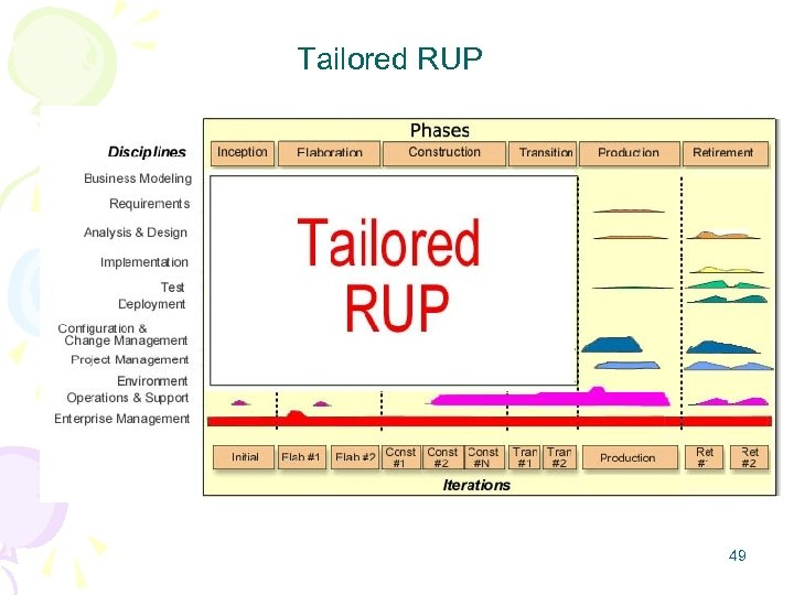 Tailored RUP 49