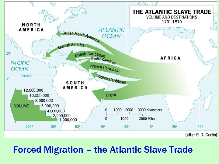 Forced Migration – the Atlantic Slave Trade