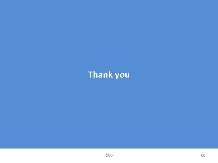 Thank you ICPAK 88
