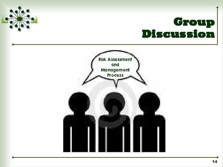 Group Discussion Risk Assessment and Management Process 14