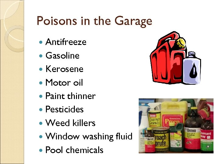 POISON PREVENTION Tips for Caregivers of Small Children