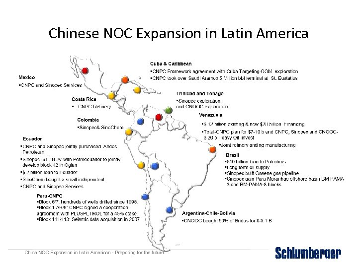 Chinese NOC Expansion in Latin America
