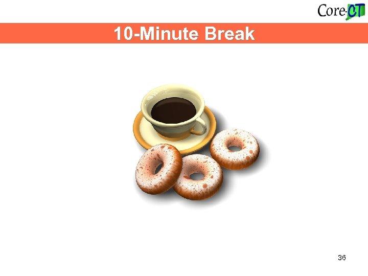 10 -Minute Break 36