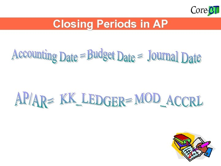 Closing Periods in AP