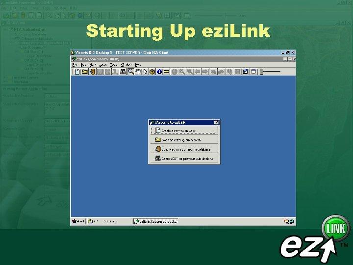 Starting Up ezi. Link