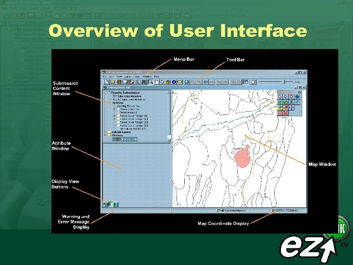 Overview of User Interface