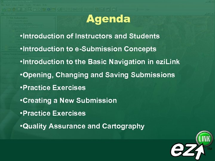 Agenda • Introduction of Instructors and Students • Introduction to e-Submission Concepts • Introduction