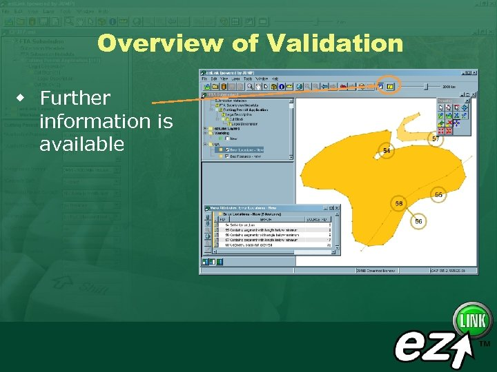 Overview of Validation w Further information is available