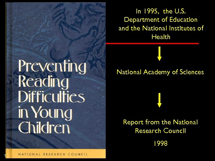 In 1995, the U. S. Department of Education and the National Institutes of Health