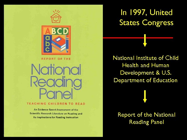In 1997, United States Congress National Institute of Child Health and Human Development &