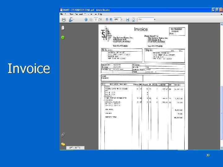 Invoice 30