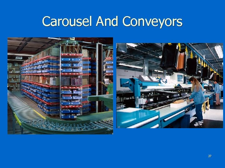 Carousel And Conveyors 37