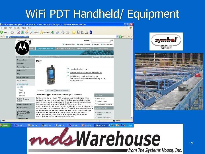 Wi. Fi PDT Handheld/ Equipment 8