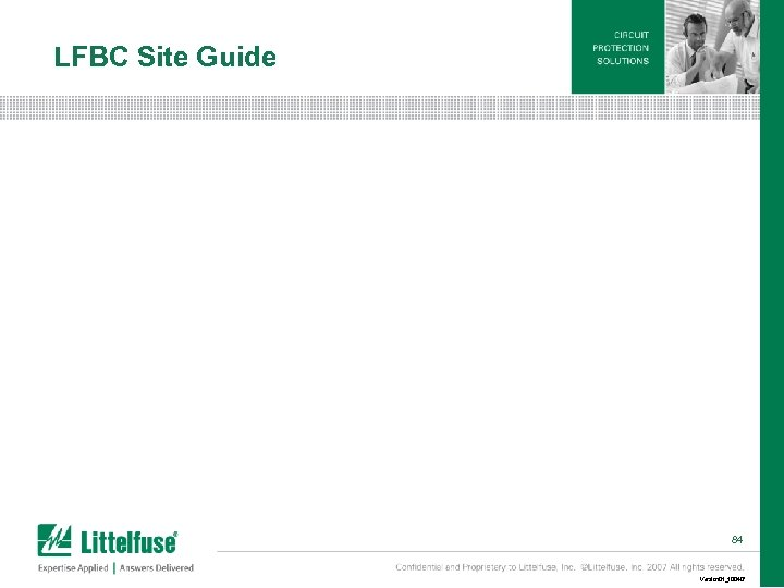 LFBC Site Guide 84 Version 01_100407