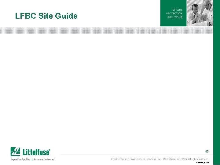 LFBC Site Guide 85 Version 01_100407