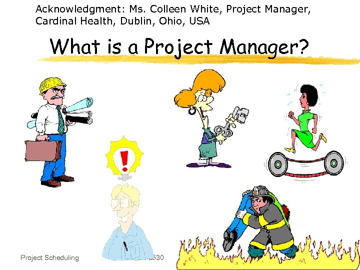 Acknowledgment: Ms. Colleen White, Project Manager, Cardinal Health, Dublin, Ohio, USA What is a