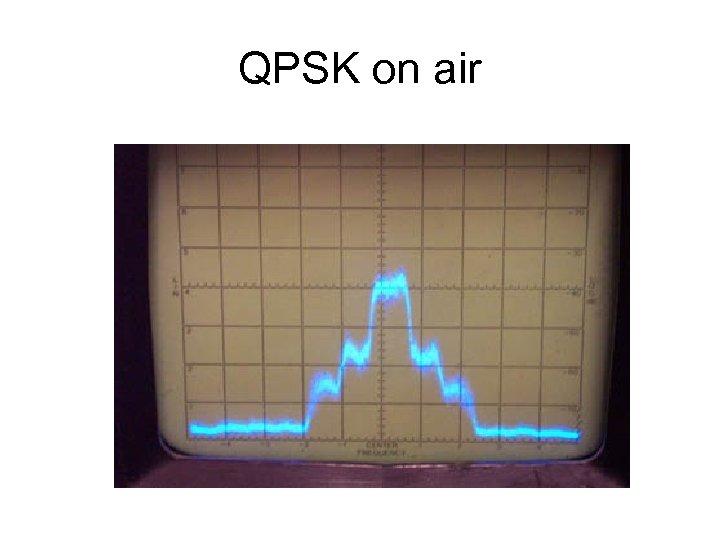 QPSK on air