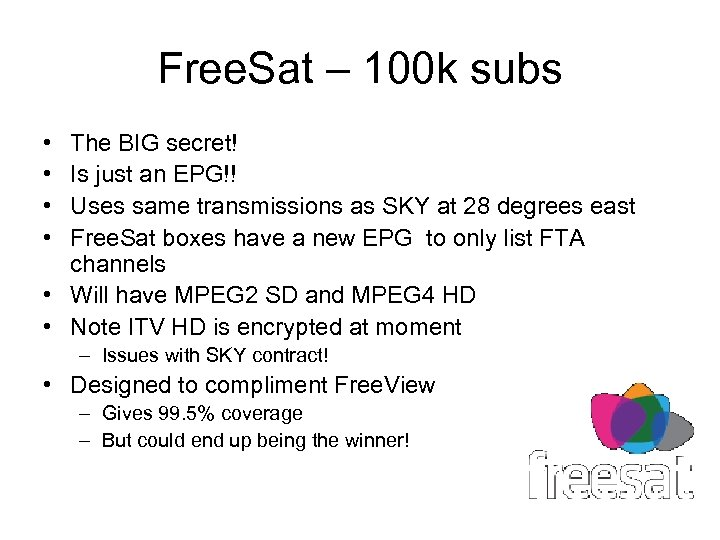 Free. Sat – 100 k subs • • The BIG secret! Is just an