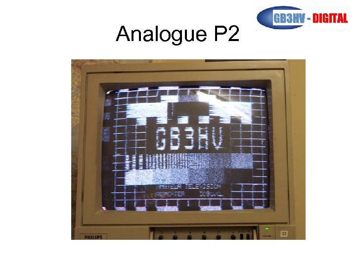 Analogue P 2