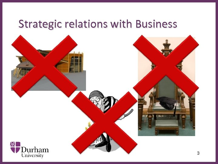 Strategic relations with Business ∂ 3