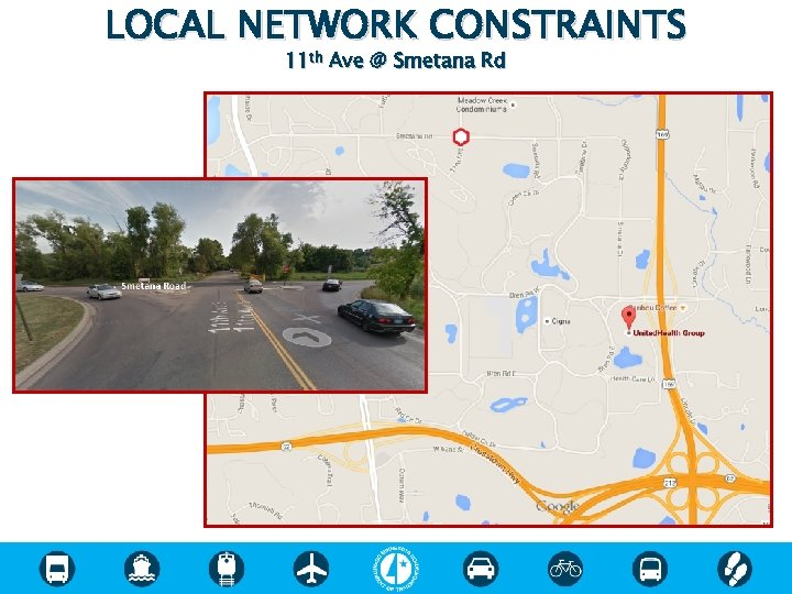 LOCAL NETWORK CONSTRAINTS 11 th Ave @ Smetana Rd